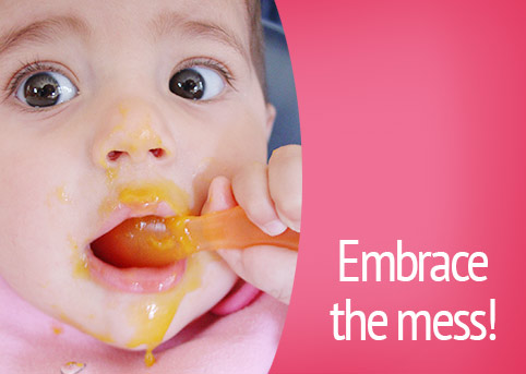 weaning mess