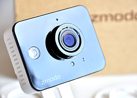 Front face of Zmodo baby monitor camera